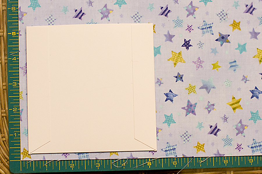 How to make a personalized CD cover with fabric Austin Texas.