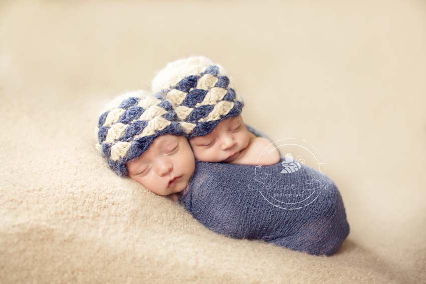 Newborn baby boy twin photographer Austin Texas