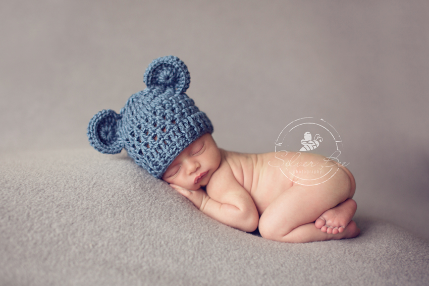 Beautiful newborn baby in Austin for portrait photography session