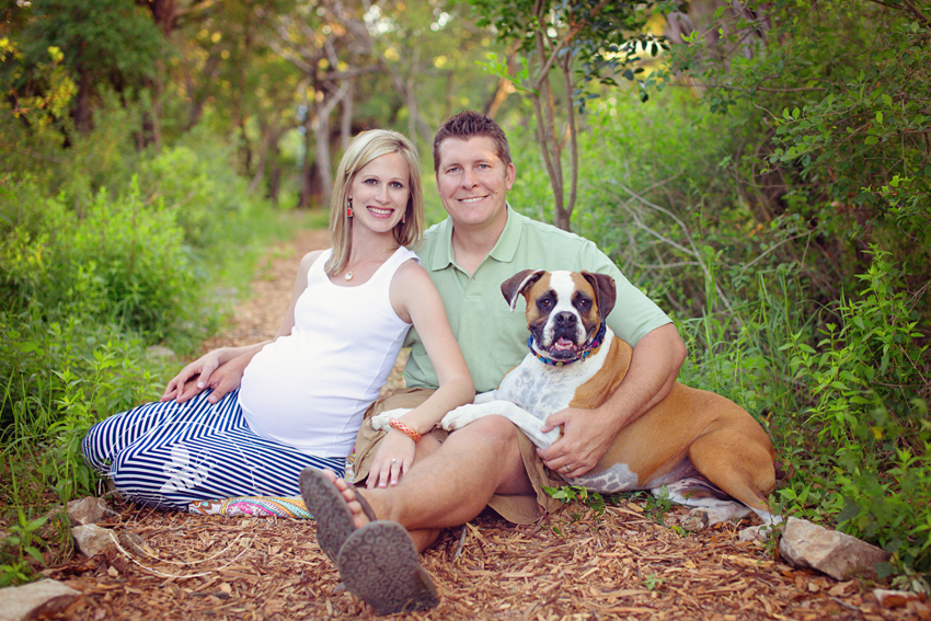 Outdoor Maternity Photography at Bull Creek Park