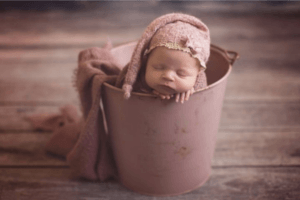 Newborn image from our photographer