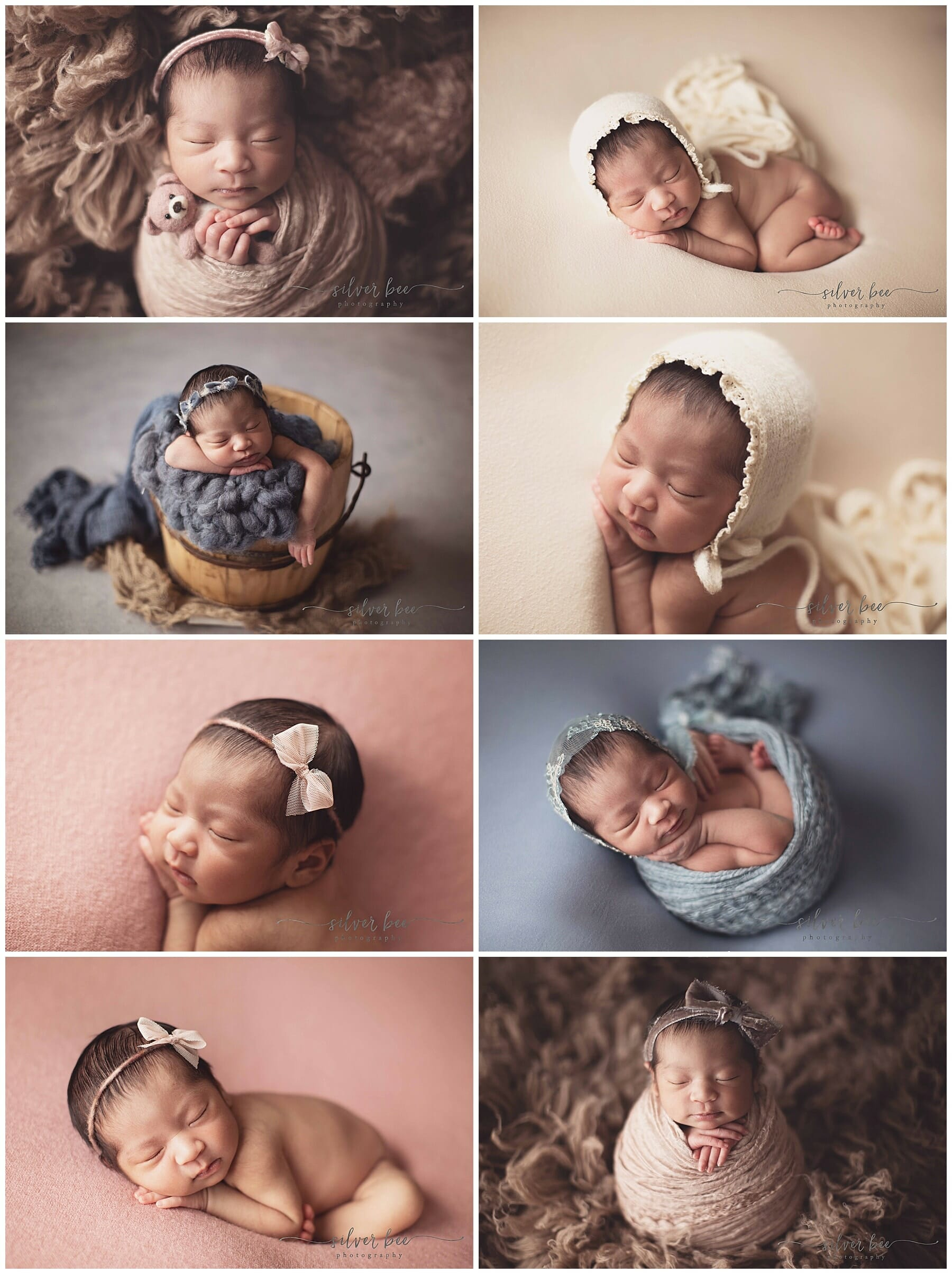 Austin Newborn Baby Photo Shoot at Silver Bee Photography