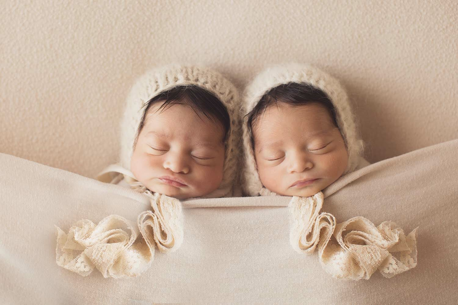 Austin Newborn Twin Photography